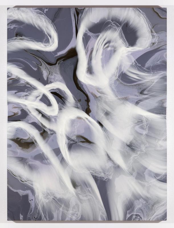 Propagation IV, 2017, Encre et acrylique sur toile, 162,6 x 121,9 cm / 64 x 48 pouces