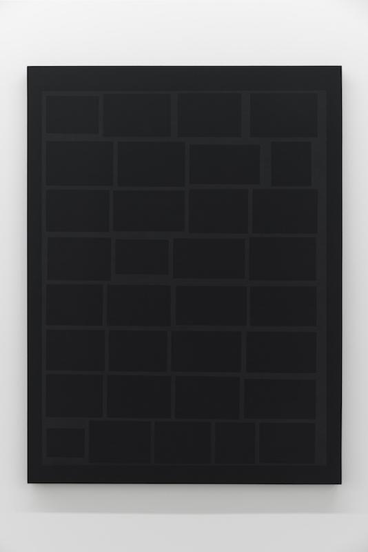 Daniel Langevin, Cumulus, 2018, Acrylique sur coton, 122 x 91 cm / 48 x 36 pouces