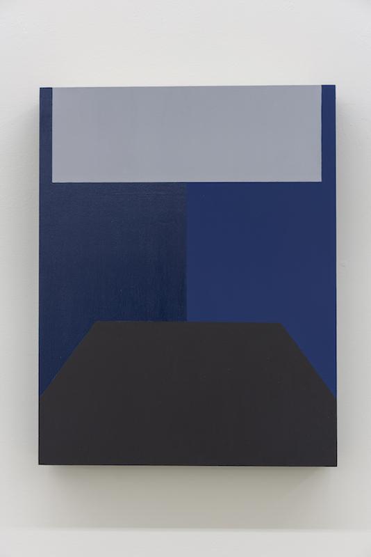 Serena Beaulieu, Room II (S.F.), 2018, Acrylique sur bois, 35,5 x 28 cm / 14 x 11 pouces