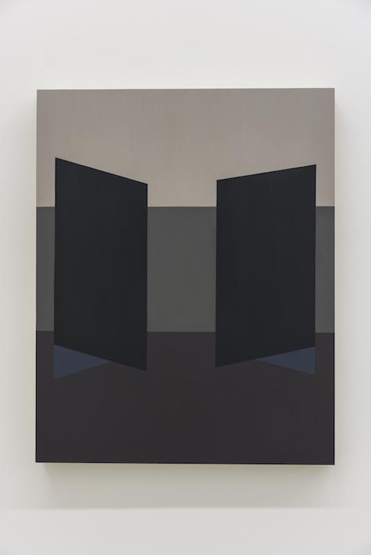 Serena Beaulieu, Untitled (Asymmetry I), 2018, Acrylique sur bois, 51 x 40,5 cm / 20 x 16 pouces