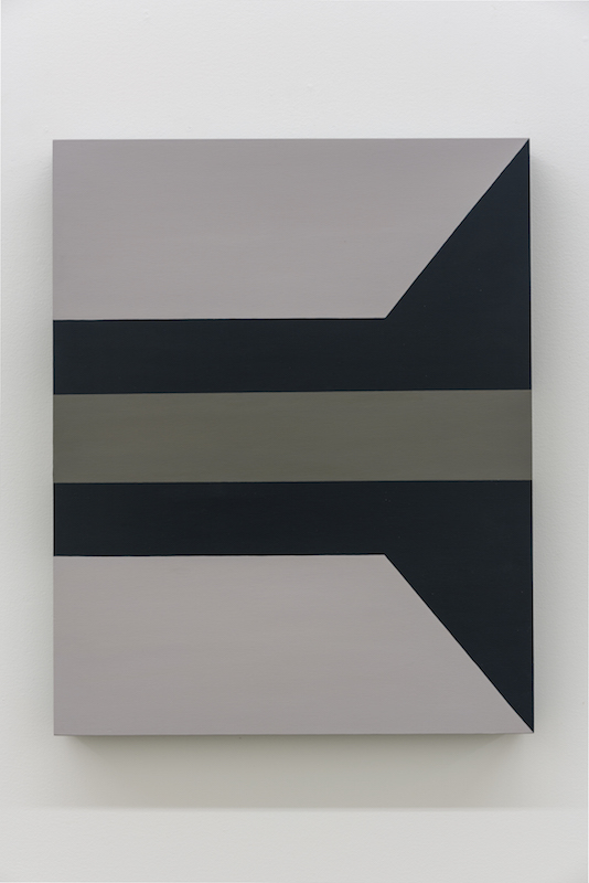 Serena Beaulieu, Phthalo, 2018, Acrylique sur bois, 51 x 40,5 cm / 20 x 16 pouces