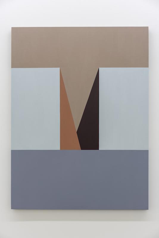 Serena Beaulieu, Untitled (M), 2017-2018, Acrylique et huile sur bois, 122 x 91,5 cm / 48 x 36 pouces