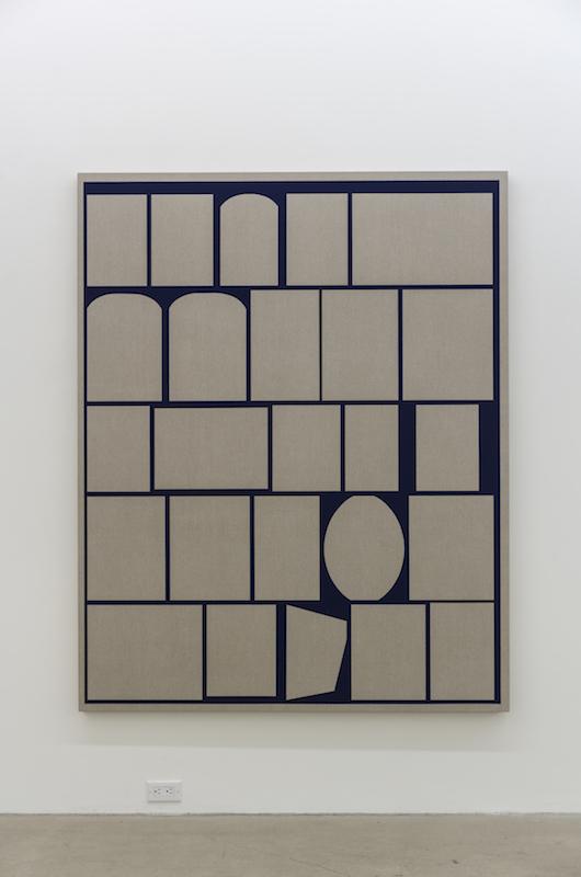 Daniel Langevin, Mademoiselle, 2017, Acrylique sur lin, 178 x 142 cm / 70 x 56 pouces