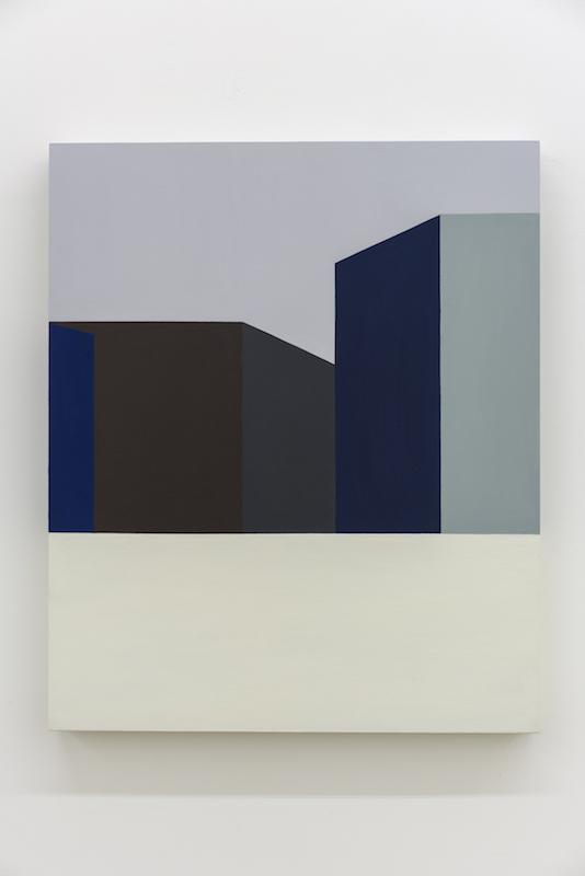 Serena Beaulieu, Local Flatness, 2018, Acrylique sur bois, 61 x 51 cm / 24 x 20 pouces