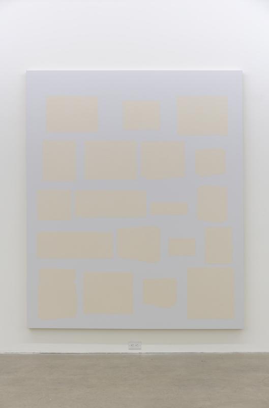 Daniel Langevin, Marshall, 2017, Acrylique sur toile,229 x 193 cm / 90 x 76 pouces