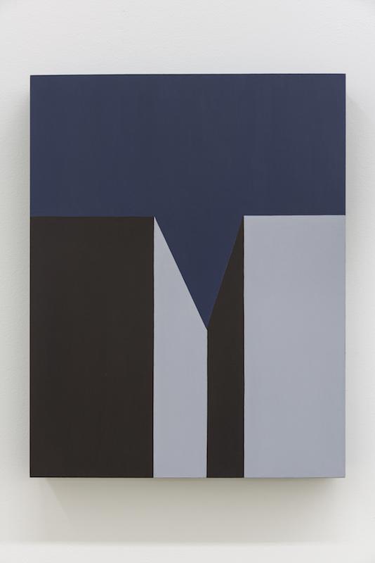 Serena Beaulieu, Concertina, 2018, Acrylique sur bois, 35,5 x 28 cm / 14 x 11 pouces