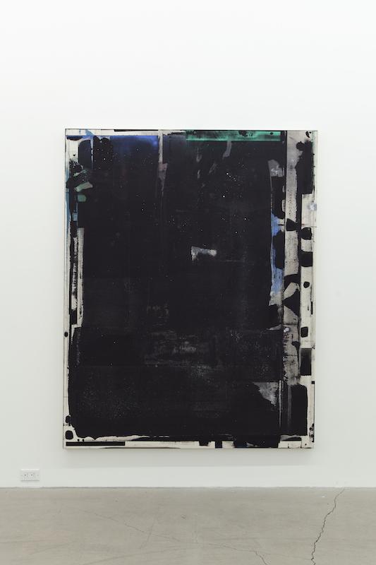 Jean-François Lauda, Sans titre, 2018, acrylique sur toile, 193 x 152,4 cm /76 x 60 pouces.
