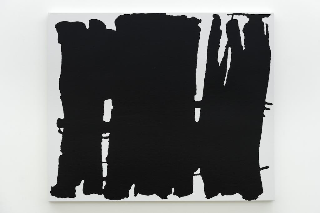 Francine Savard, Gitanes 09, 14 :1, 2018, acrylique sur toile marouflée sur caisson de bois, 101,6 x 121,9 cm / 40 x 48 pouces