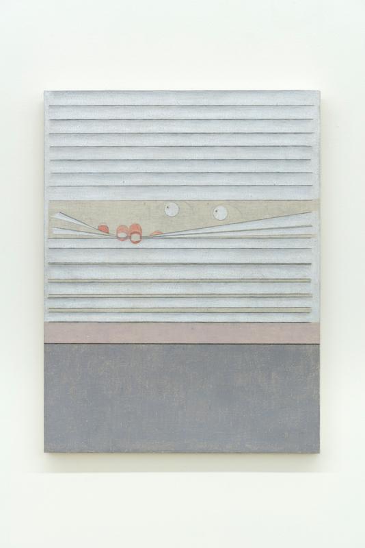 Marlon Kroll, The problem with introspection is that it has no end, 2018, Crayon de couleur sur mousseline montée sur panneau, 53,3 x 40,6 cm / 21 x 16 pouces