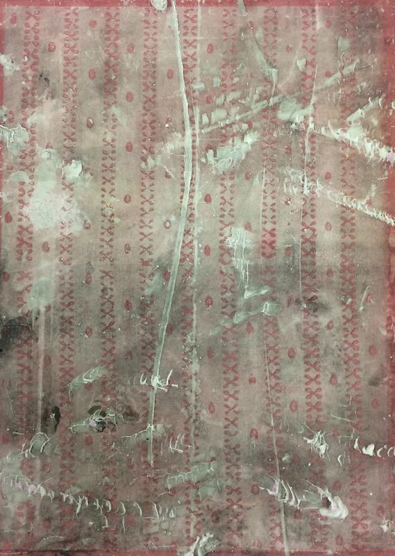 Nicolas Lachance, Anonyme, 2018, Ciment de gypse, bois et encre, moulage et sérigraphie, 62,2 x 45,7 cm / 24,5 x 18 pouces