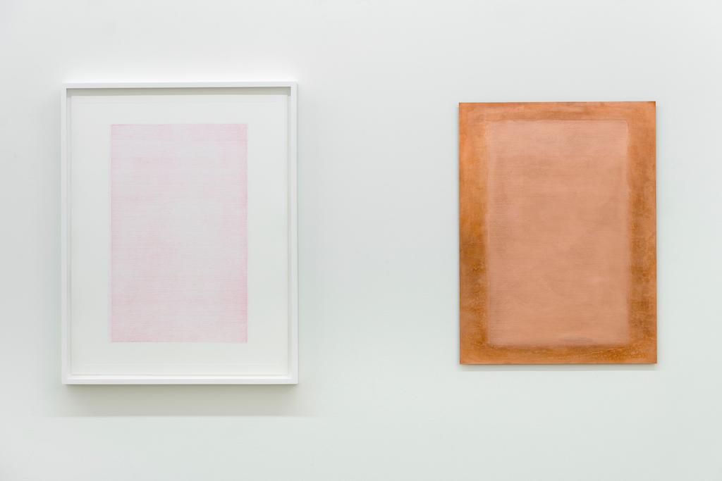 Simon Bertrand, Le livre rouge, 2017, Plaque de cuivre et impression sur papier, 60,9 x 45,7 cm / 24 x 18 pouces (chaque élément)