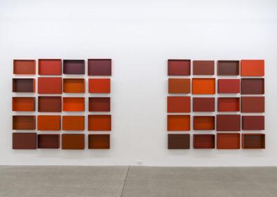 Francine Savard, Truisme 2 et 3, Vue d'installation, Galerie René Blouin, 2016.
