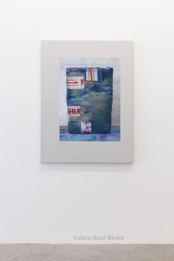 Nicolas Lachance, Flux, 2017, Huile et acrylique sur toile, 121,9 x 91,4 cm / 48 x 36 pouces