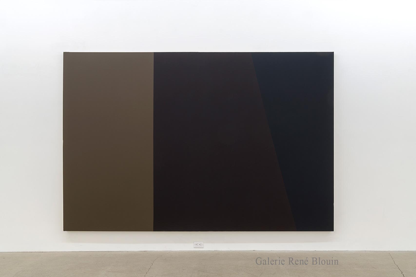 Yves Gaucher, CDRR red rouge, 1986-87, Acrylique sur toile, 203,2 x 304,8 cm / 80 x 120 pouces, Photo : Guy L'Heureux