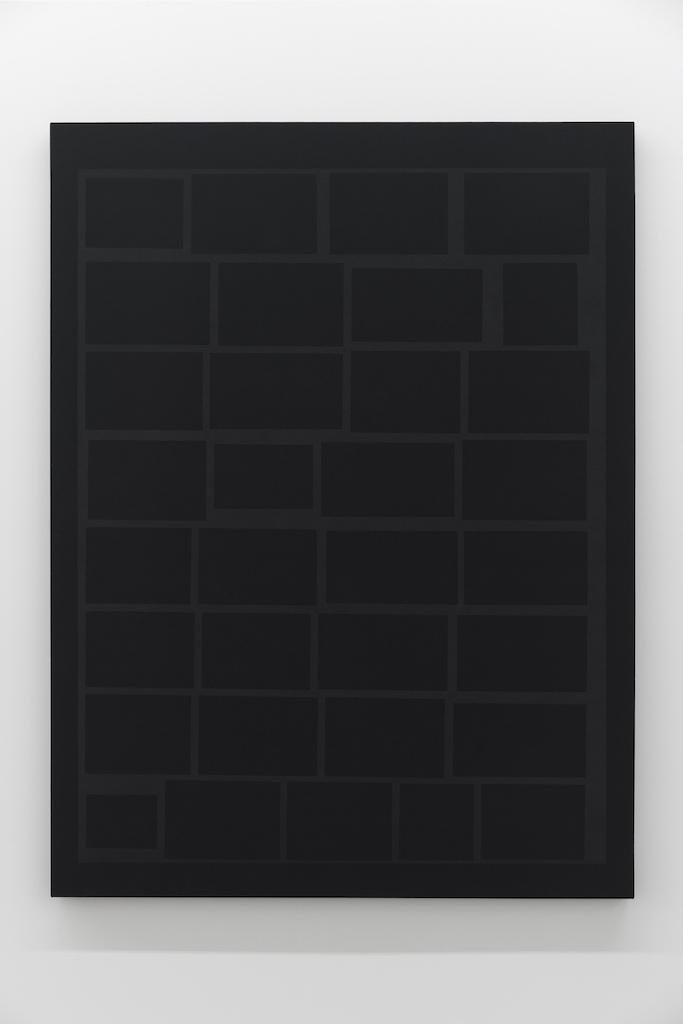 Daniel Langevin, Cumulus, 2018, Acrylique sur coton, 122 x 91 cm / 48 x 35,8 pouces