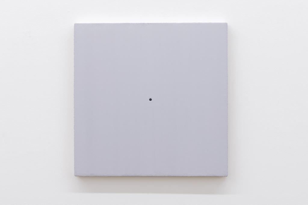 Matthew Feyld, Untitled 19-06, 2018-2019, Acrylique, pigments et pâte à relief sur toile montée sur panneau, 40,64 x 40,64 cm / 16 x 16 pouces