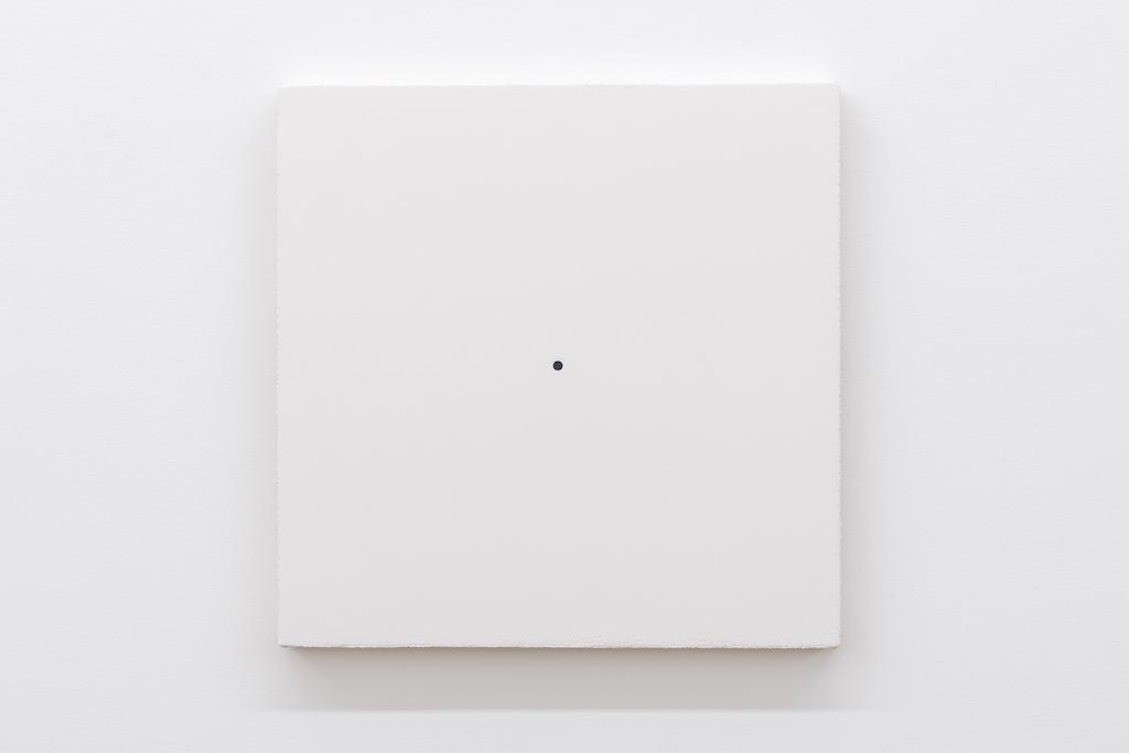 Matthew Feyld, Untitled 19-07, 2018-2019, Acrylique, pigments et pâte à relief sur toile montée sur panneau, 40,64 x 40,64 cm / 16 x 16 pouces
