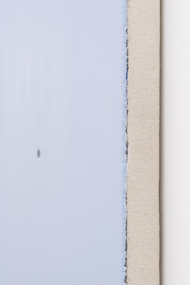 Matthew Feyld, Untitled 19-01 (detail), 2018-2019, Acrylique, pigments et pâte à relief sur toile montée sur panneau, 40,64 x 40,64 cm / 16 x 16 pouces