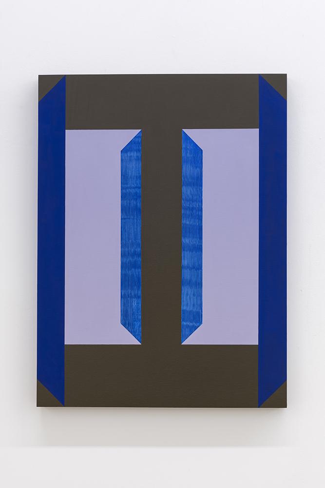 Serena Beaulieu, Inversion II, 2018-2019, Acrylique sur panneau de bois, 61 x 45,5 cm / 24 x 18 pouces