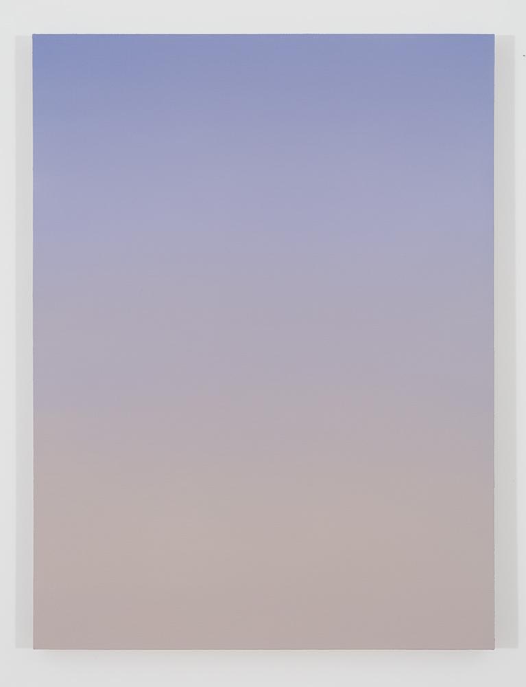 Pierre Dorion, Bichrome (Vauvert), 2016, huile sur toile de lin, 122 x 91,5 cm / 48 x 36 pouces  (crédit photo : Richard-Max Tremblay)