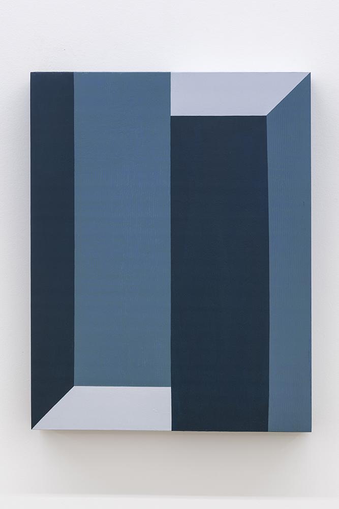 Serena Beaulieu, Inversion I,2018, Acrylique sur panneau de bois, 35,5 x 28 cm / 14 x 11 pouces