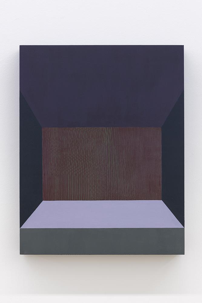 Serena Beaulieu, Vert, 2018, Acrylique sur panneau de bois, 35,5 x 28 cm / 14 x 11 pouces