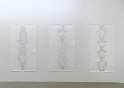 Sarah Stevenson, Vue d'installation : Galerie René Blouin, 2017.