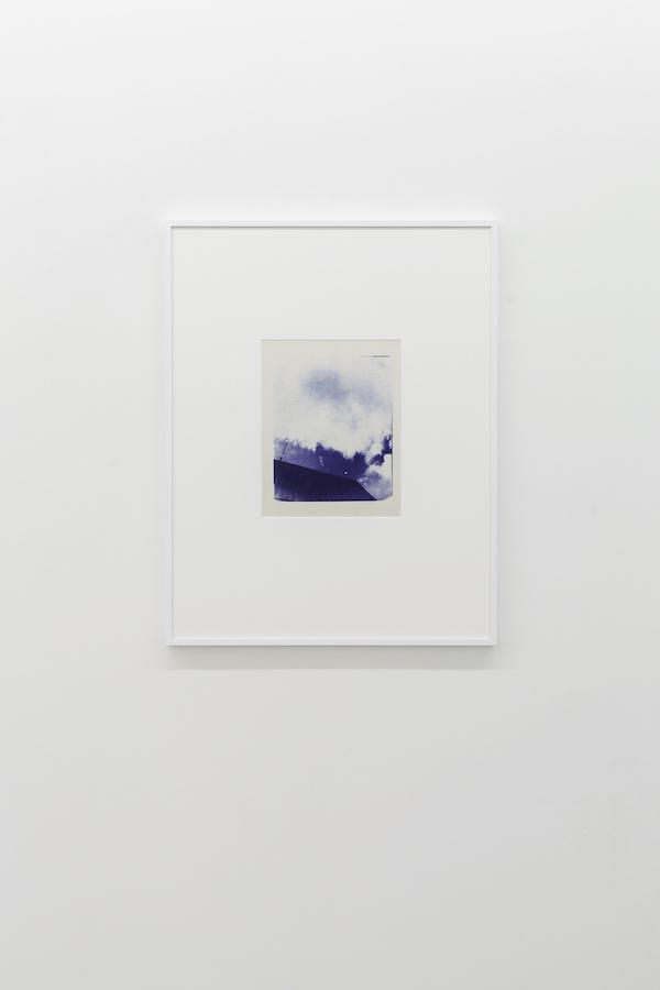 Charles Gagnon, Untitled (2), circa 1974, Cyanotype, 32 x 25 po (papier).